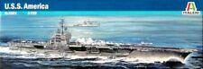 Italeri 5521 1/720 Scale Aircraft Carrier Model Kit U.S.S America CV-66