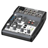 BEHRINGER XENYX 502 mixer audio professionale 5 ingressi dj live studio NUOVO