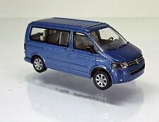 Wiking 027340 Volkswagen VW T5 GP California - acapulcoblau metallic