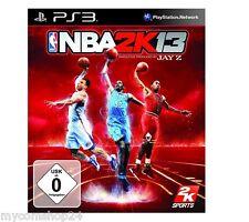 PlayStation 3 ps3 juego NBA 2k 13 baloncesto OVP todo en alemán