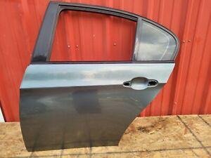 06-11 BMW E90 325I 328XI 335I 335XI  REAR LEFT DRIVER DOOR SHELL SPACE GRAY OEM