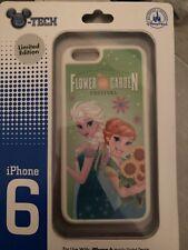 New Disney Parks D-Tech Frozen Elsa Anna Epcot Flower And Garden iPhone 6 Case
