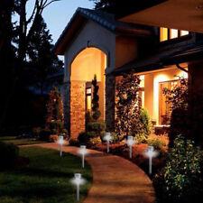 4× Waterproof LED Solar Power Yard Path Garden Lawn Landscape Lamp Light Outdoor
