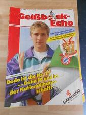 Geißbock Echo 1 FC Köln Nr.10 vom 23.2.1990 gegen Bayern München
