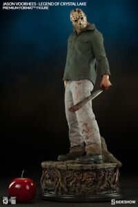 SIDESHOW EXCLUSIVE JASON VOORHEES LEGEND of CRYSTAL LAKE Statue Friday The 13th