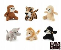 1 X Living Nature Jungle Mini Buddies Soft Toys Plush Cuddle Kids Children Xmas