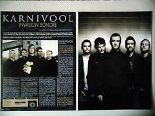 COUPURE DE PRESSE-CLIPPING :  KARNIVOOL [4pages] 01/2011 Ian Kenny,Drew Goddard