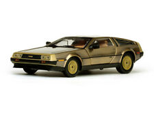 DE LOREAN DMC 12 COUPE 1981 gold  Steel Finish  - 1:18 Sunstar 2702 >>NEW<<