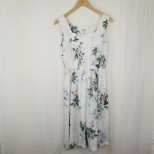 Malvin I Love Linen Dress Size 8 Size Medium