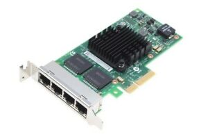 Intel i350-T4 // Quad Port Gigabit Ethernet Adapter // Low Profile