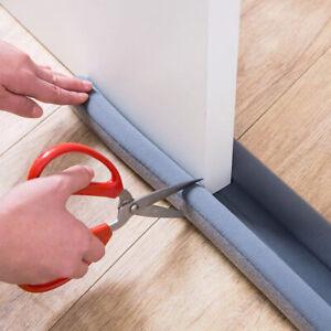 1-4x Waterproof Seal Strip Draught Excluder Stopper Door Bottom Guard Double NEW