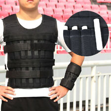 Adjustable Weighted Vest 44LBS Fitness Weight Training Workout Boxing Jacket