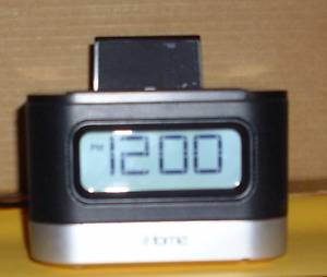 iHome Model Ipl8bn Radio - Clock - Charging Station.