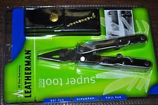Leatherman Super Tool 200 release at 2001 with leather case original package USA