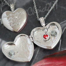 Unusual Rare Gift for her Best Friend Anniversary Locket Wording Valentine Xmas