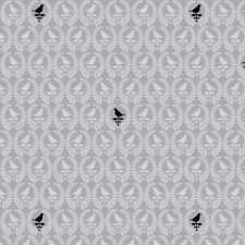 Blank Quilting 9010-90 Birds Of A Feather Tonal Mini Birds Gray Fabric By Yard