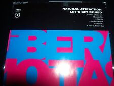 Natural Attraction – Let's Get Stupid Australian Remixes CD Single – Like New