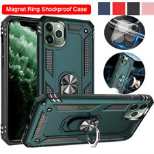 For iPhone 11/11 Pro / 11 Pro Max Case Shockproof Protective Magnetic Ring Cover