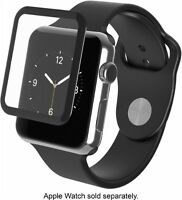 ZAGG - InvisibleShield Glass Luxe for Apple Watch (Series 1) 42mm - A42BGS-BK0