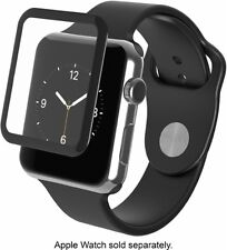 ZAGG - InvisibleShield Glass Luxe for Apple Watch (Series 1) 38mm - A38BGS-BK0