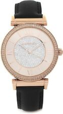 MICHAEL KORS CATLIN WOMENS WATCH MK2376 ROSE GOLD CRYSTAL PAVE DIAL RRP £229.00