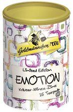 25 X Goldmännchen Emotion Kräuter Minze Zimt Teepads für Senseo geeignet,Neu
