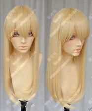 Attack on Titan Krista Lenz 60cm Blonde Lolita Cosplay Party Wig