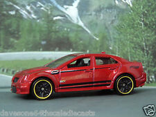 CADILLAC CTS-V 1:64 (Dark Red) Hot Wheels MIP Passenger Diecast Model Car Sealed