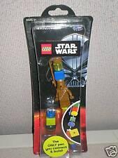 Lego Star Wars Chewbacca & Yoda Pens  (One Each)  LUCAS 6+