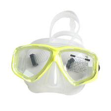 Standard Yellow Scuba Diving Goggles