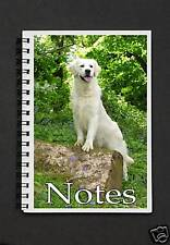 Golden Retriever Notebook / Notepad No 4 By Starprint - Auto combined postage