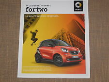 BROCHURE NOUVELLE SMART FORTWO   français couleurs  80 PAGES 2014