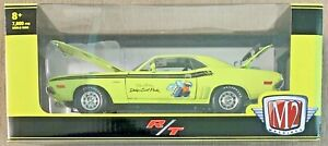 M2 Machines 2021 Scat Pack 1971 Dodge Challenger R/T 440 #R87 1:24 Scale Diecast