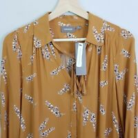 [ SUSSAN ] Womens Print Blouse Top NEW $89.95 | Size AU 8 or US 4