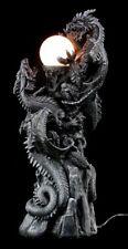 Dragón - Dragón Lámpara GOTHIC Fantasy Decoración Lámpara de pie
