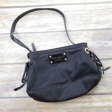 Kate Spade Vintage Black Nylon Mini Hand Bag Purse