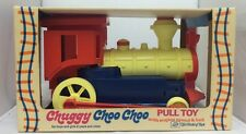 1970's Ding Dong Chuggy Choo' Choo Plastic Pull Toy The World Of Toys VERY RARE!