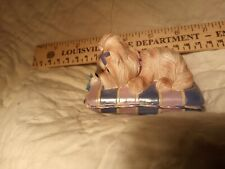 Shih Tzu Dog Figurine Pretty in Purple Shih Tzu Collection
