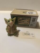 """New Listing""""Happy Camper"""" Whimsical World Of Pocket Dragons With Box"""