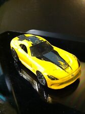 Hot Wheels 2013 Dodge SRT Viper Yellow 2012