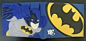 Batman Wallet Purse Mens Kids DC Comics Retro Gaming Movie Superhero Bruce Wayne