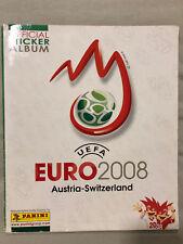 Panini Album UEFA Euro 2008 Austria-Switzerland 08 komplett