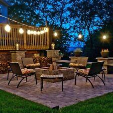 Outdoor String Lights Party Pool Gazebo Deck 48-Feet Backyard Dance Lighting