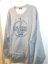 New Licensed Cal State Fullerton Titans Gray Sweatshirt Size 4XL __S19