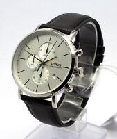 Lorus by Seiko RM327FX-9 Chronograph Herrenuhr Leder Armbanduhr