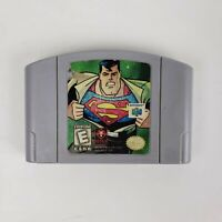 Superman (Nintendo 64, 1999) - n64 AUTHENTIC Cartridge Only - Free Shipping