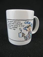 "Ceramic Coffee Mug Maxine - Shoebox Greetings - ""The Next Person"""