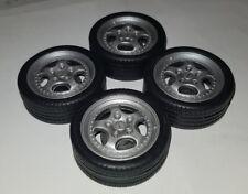 1:18 Porsche ruote Carrera Cup RS, wheels set