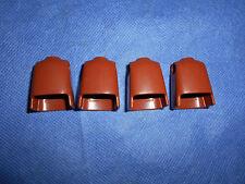 Playmobil Ritter ACW Zwerg 4 x Oberkörper bodys braun unbespielt unplayed top