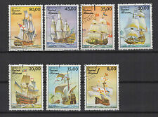 navire Guiné Bissau 1985 une série de 7 timbres / T1631